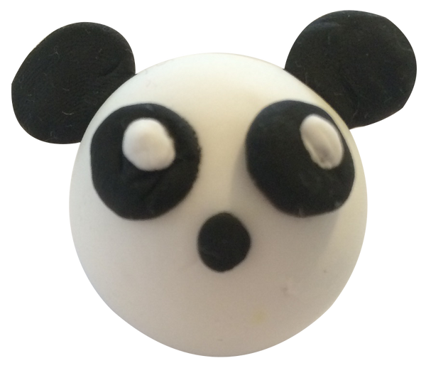 Super Light Air Clay - Panda Emoji