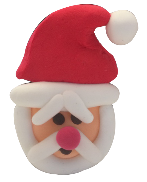 Super Light Air Clay - Santa