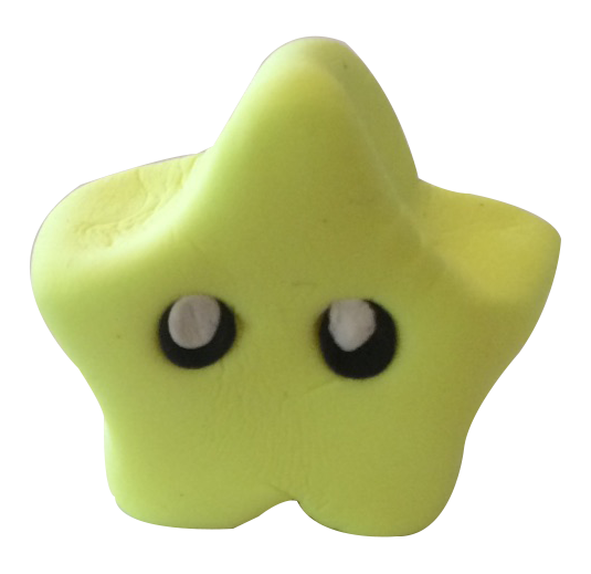 Super Light Air Clay - Mario Star