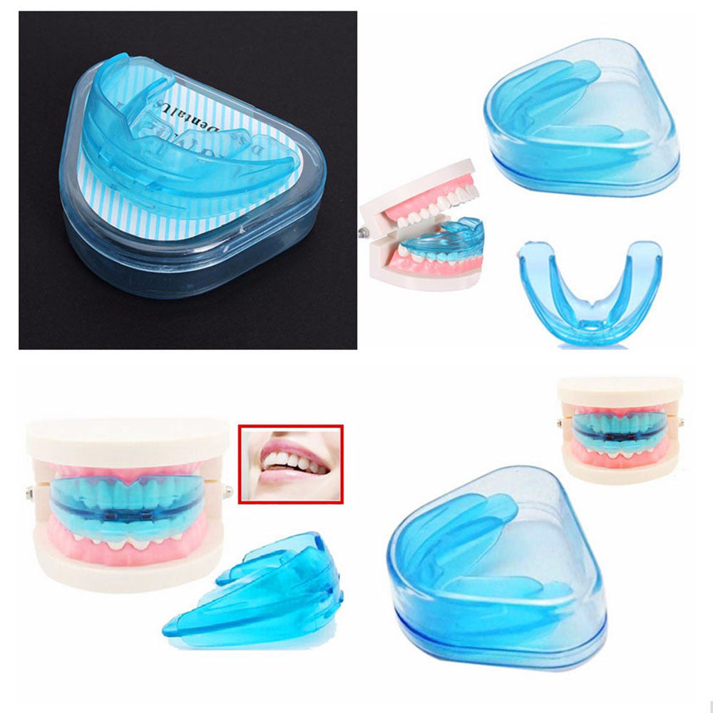 Simple Practical Orthodontic Straighten Teeth Appliance Utility Tooth Blue Silicone Oral Hygiene Dental Care Equipment for Teeth