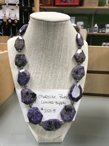 Charoite Necklace