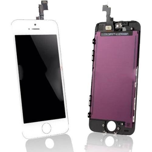 Replacement Iphone 5s Lcd White - Screenshelf