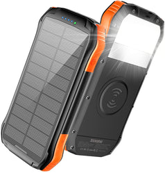 F16W Waterproof Solar Power Bank 16000 Mah