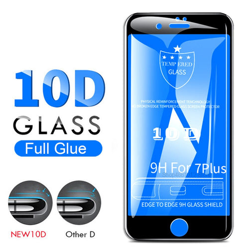 10D Tempered Glass - All iPhone Models