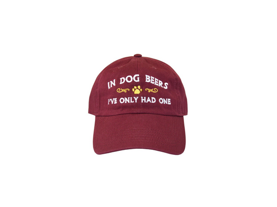In Dog Beers Hat