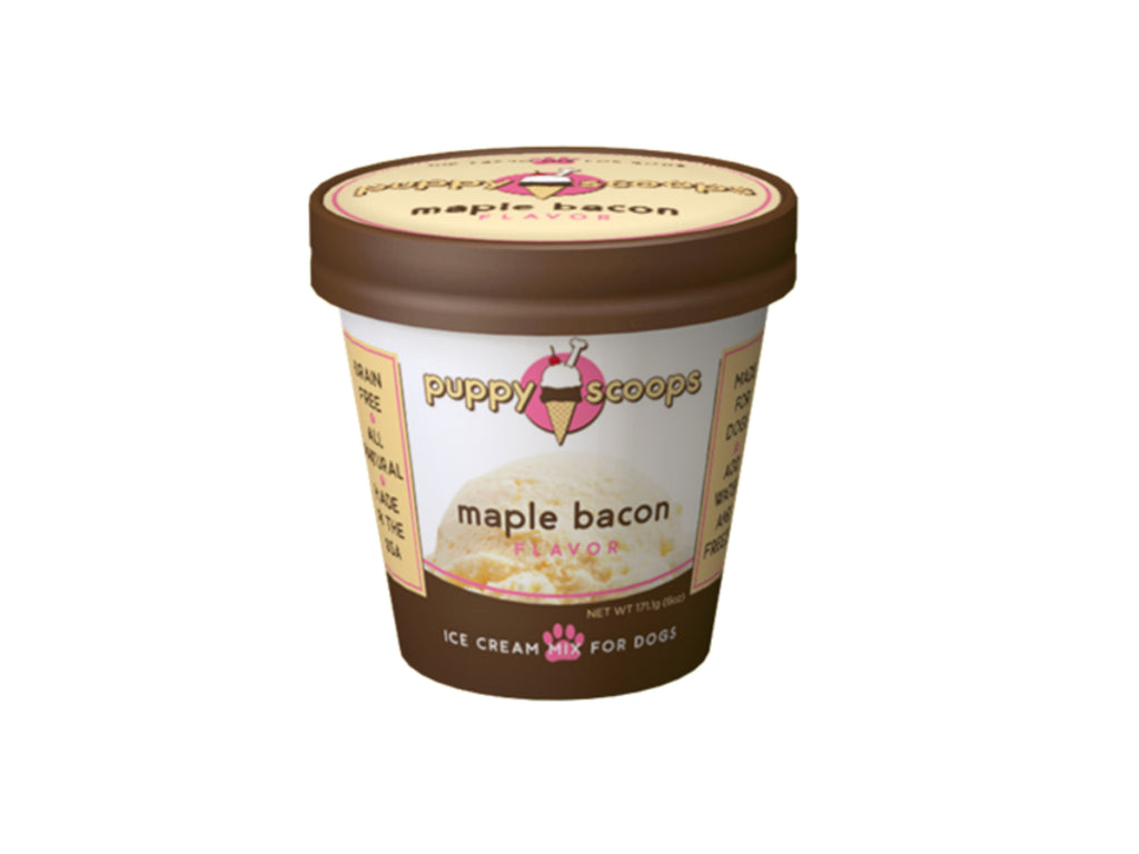 Maple Bacon Puppy Scoops Ice Cream Mix