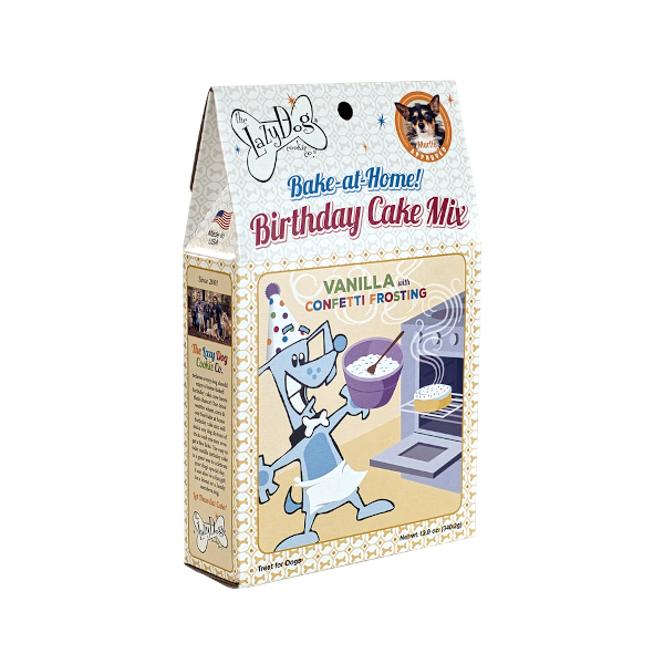 Birthday Cake Mix W/Sprinkles & Frosting Mix