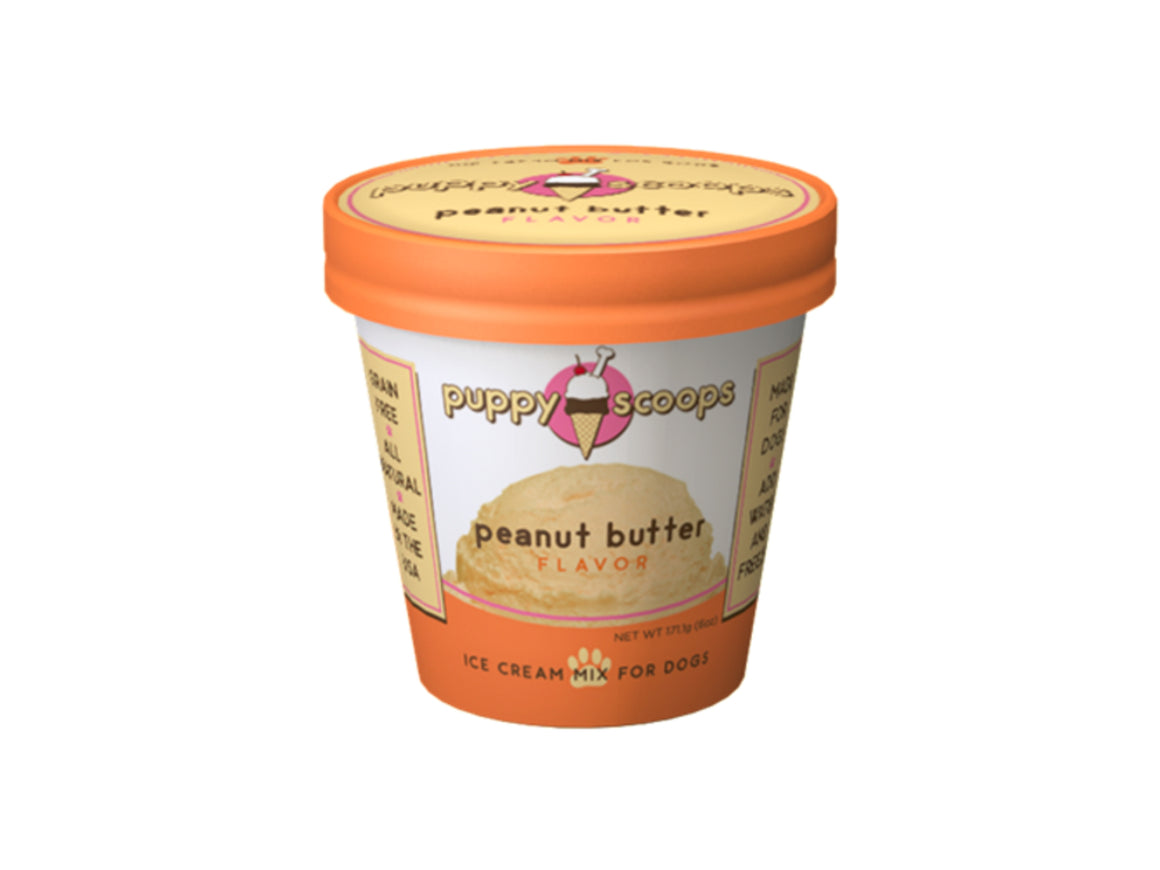 Peanut Butter Puppy Scoops Ice Cream Mix