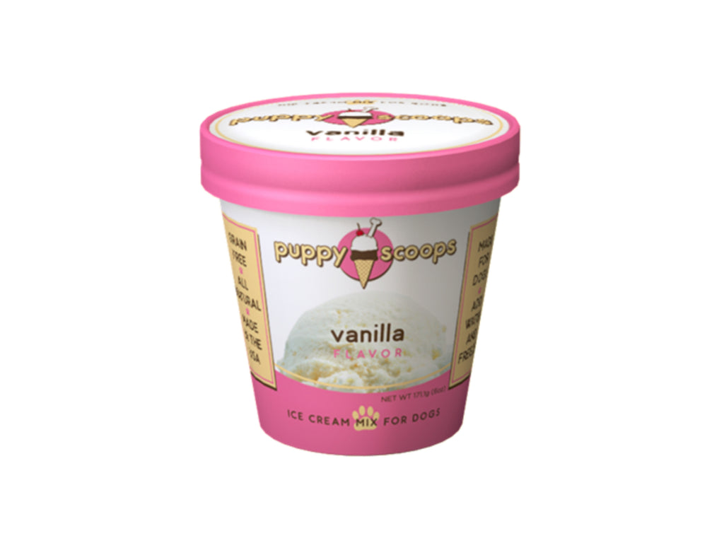 Vanilla Puppy Scoops Ice Cream Mix