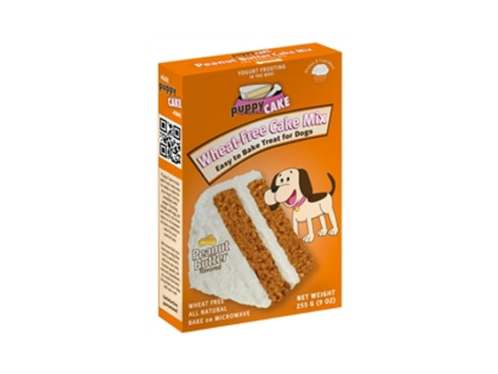 Puppy Cake Peanut Butter Cake Mix and Frosting (Wheat-Free)