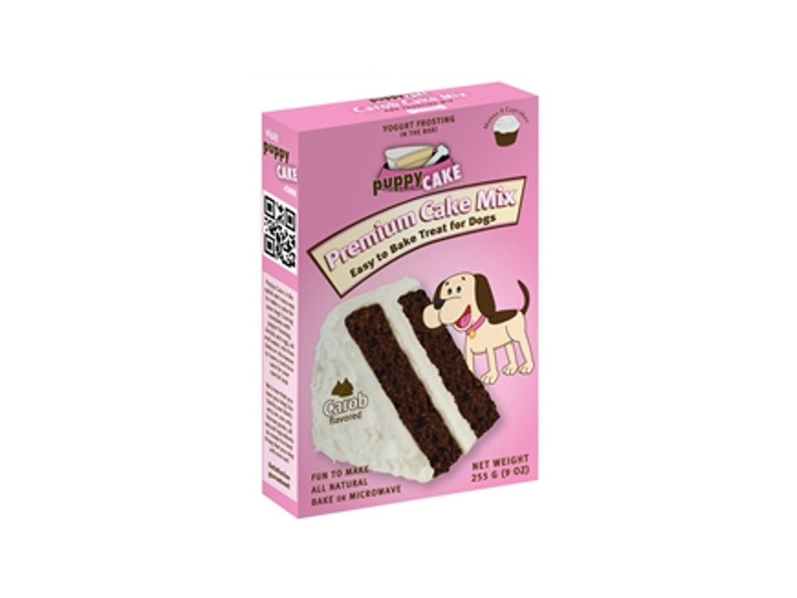 Puppy Cake Carob Flavored Cake Mix and Frosting