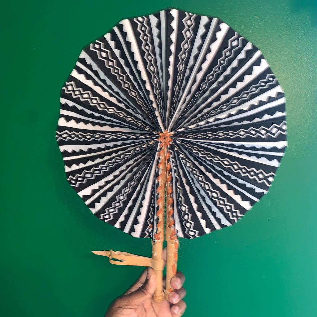 Abstract Hand Fan