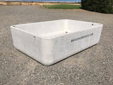 420 Gallon Capacity Concrete Water Trough
