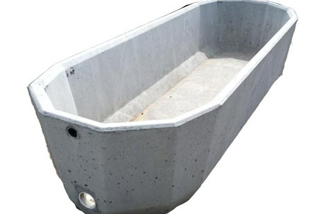 225 Gallon Capacity Concrete Water Trough