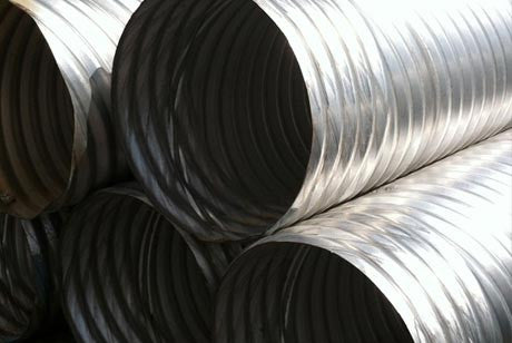Aluminized Corrugated Metal Pipe