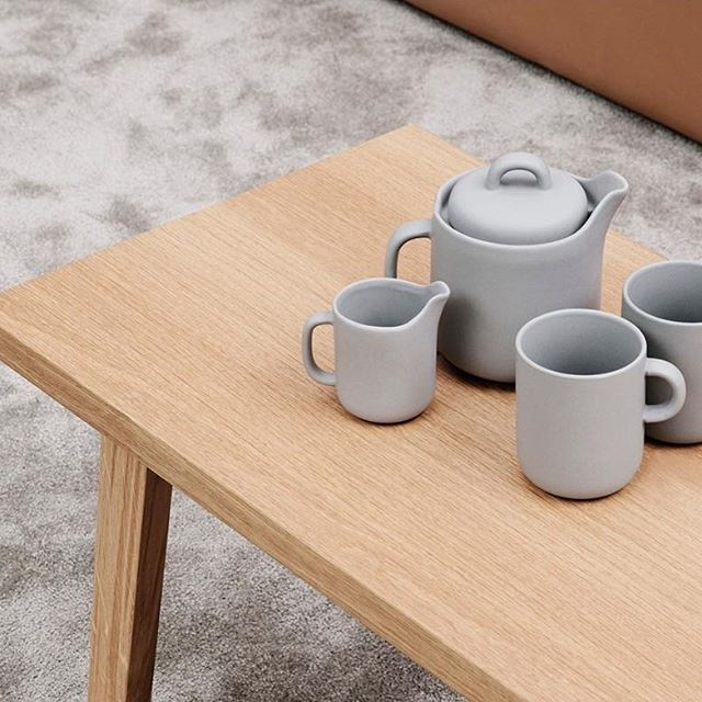 Normann Copenhagen Bliss Teapot Grey