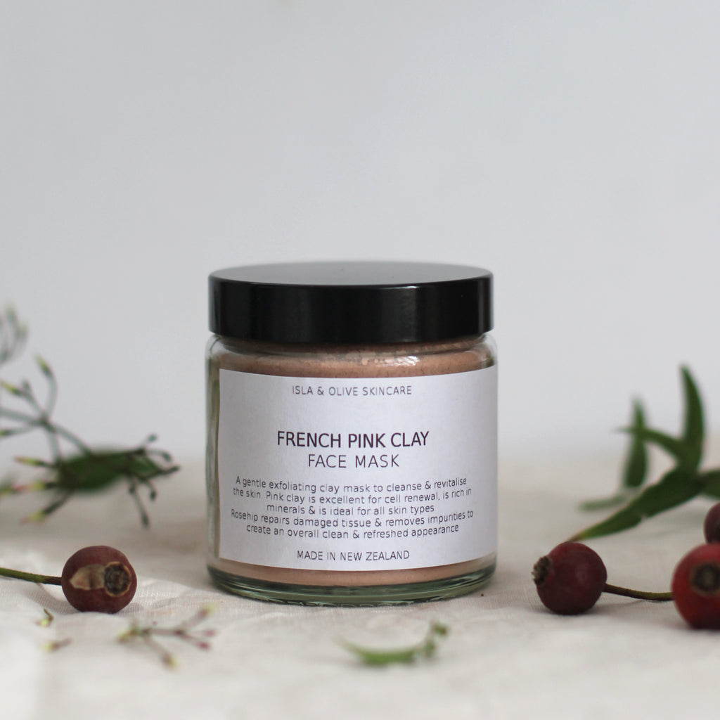 Isla & Olive French Pink Clay Mask