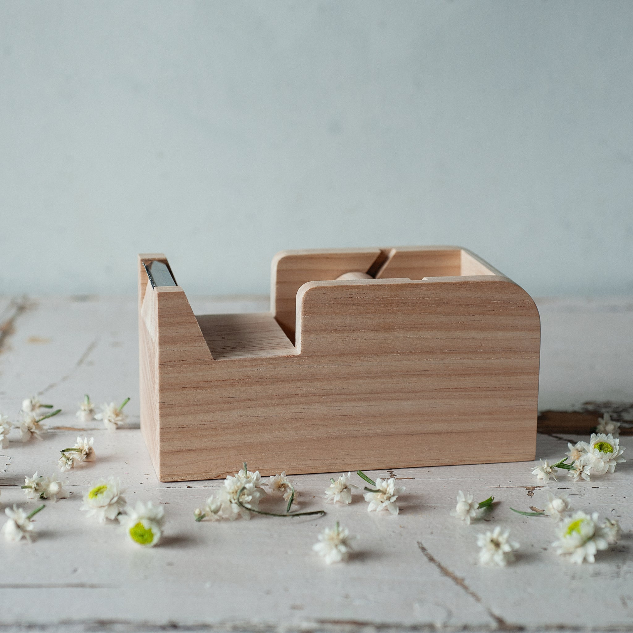 Bianca Lorenne Wooden Cellotape Dispenser