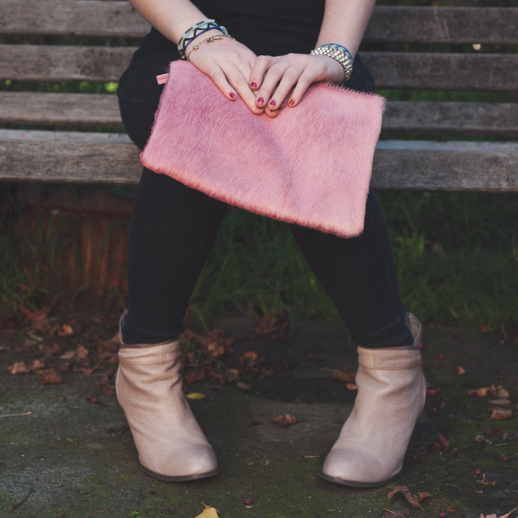 The Goods 3/4 Clutch Blush