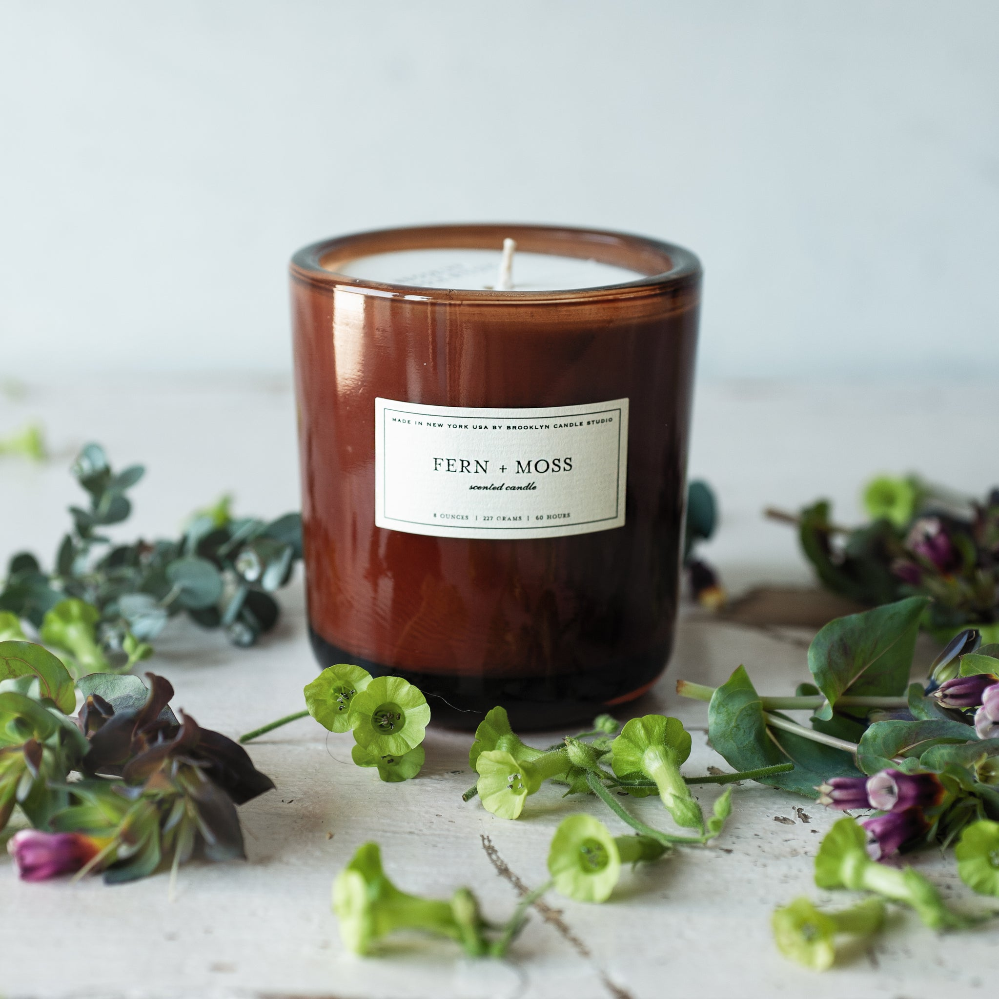 Brooklyn Candle Studio Fern & Moss Amber
