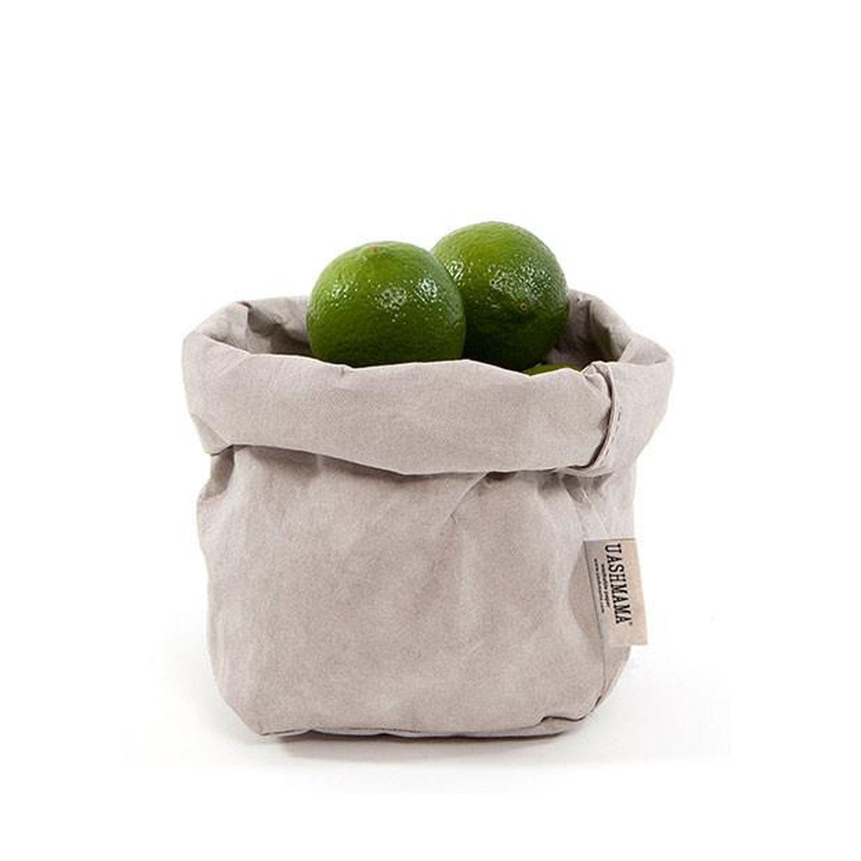 Uashmama Light Grey Italian Paper Bag
