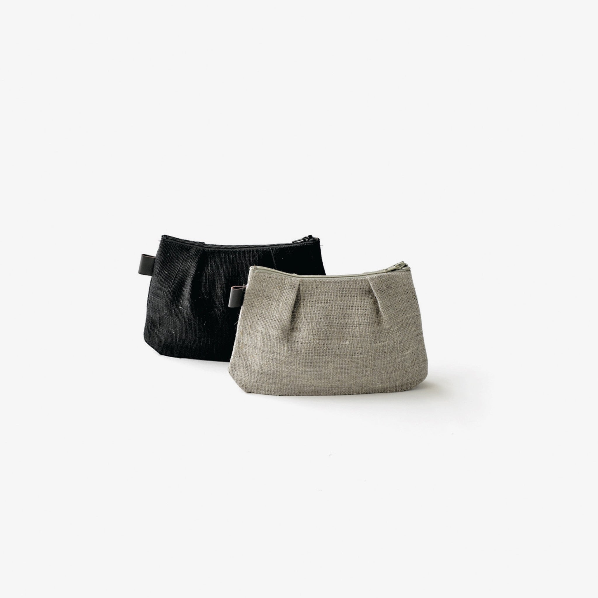 Fog Linen Shire Pouch-Small