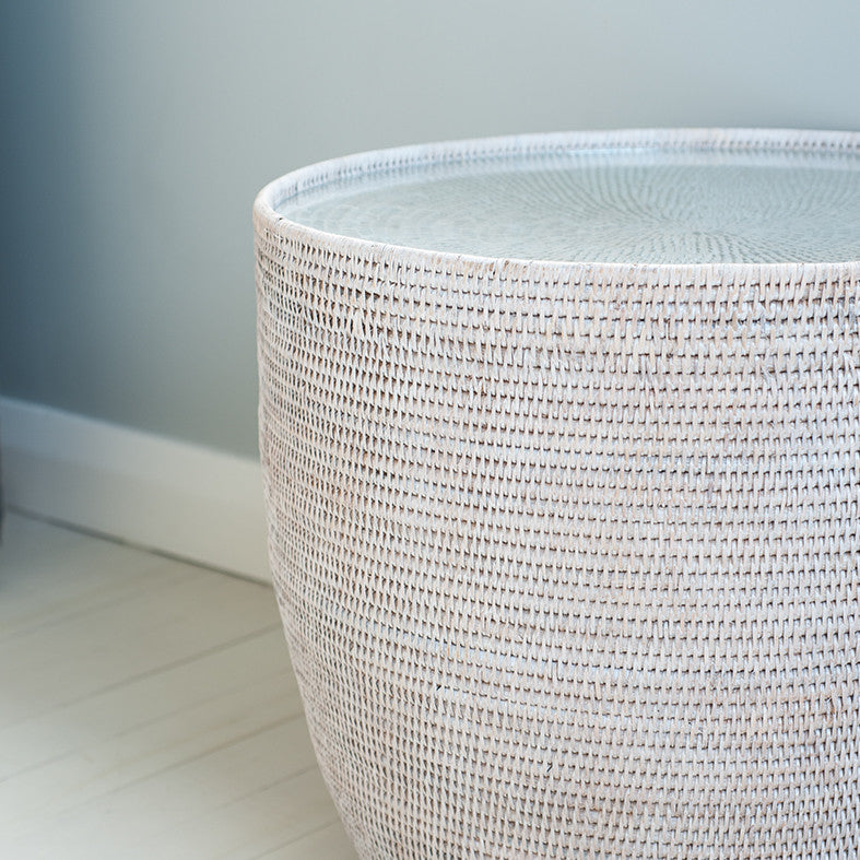 RG Imports Rattan Side Table