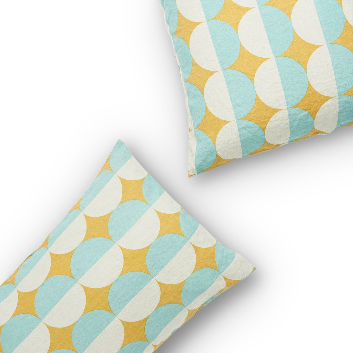 Society Of Wanderers Bob's Geometric Pillowcases