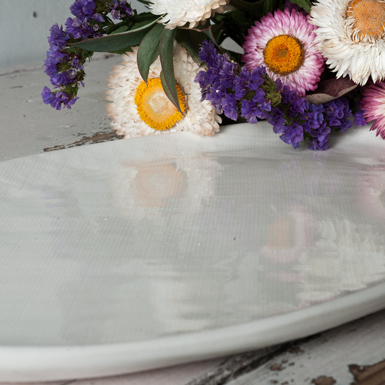 Waiheke Ceramics Natural hessian Platter