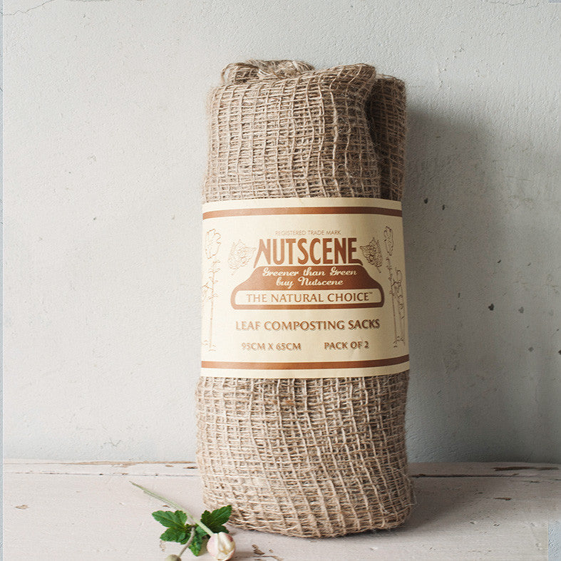 Nutscene Jute Leaf Composting Sacks