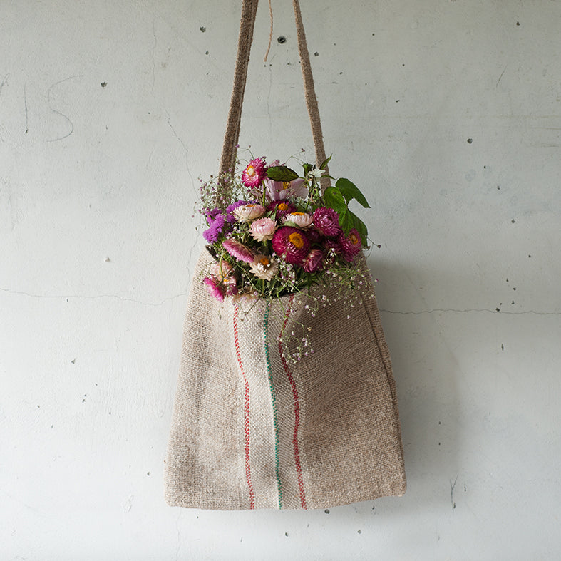 Vintage German Linen Bag