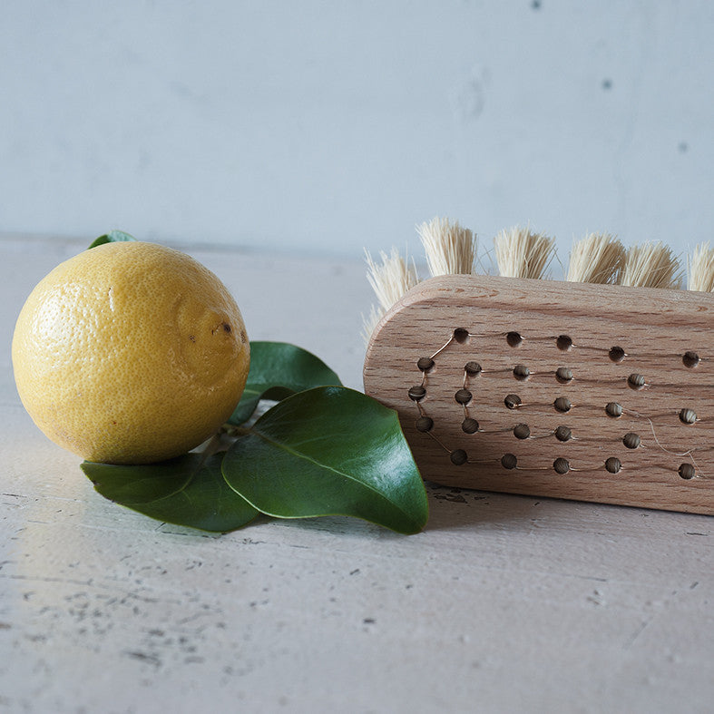 Beech Wood and Copper Wire Scrubbing Brush