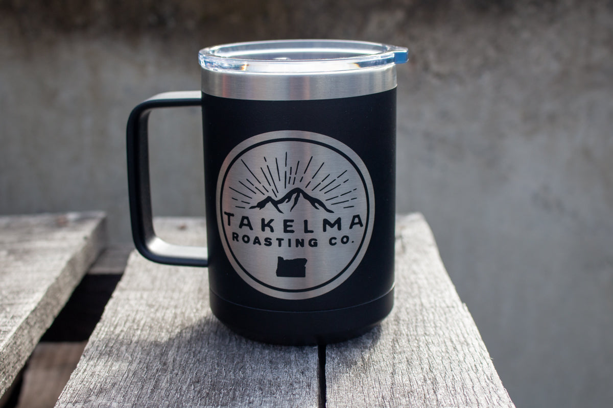 Stainless Steel Camper Mug with Handle