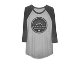 Mens 3/4 Raglan Tee - Circle Logo
