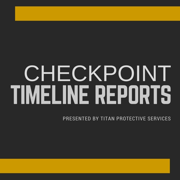 Checkpoint Timeline Reports 101