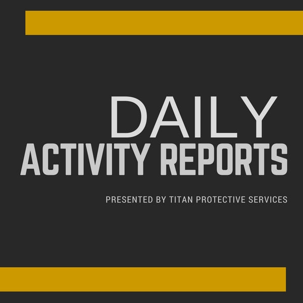 Daily Activity Reports 101