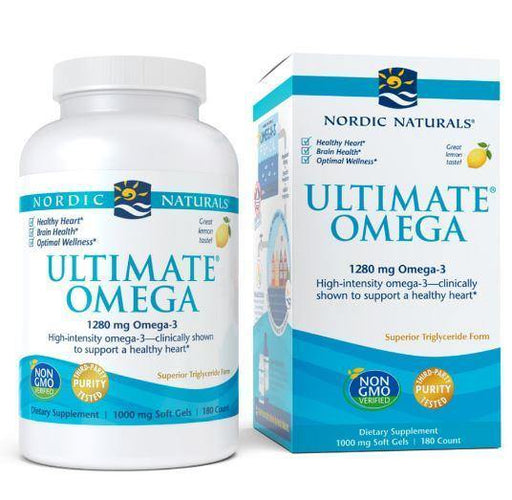 Nordic Naturals - Ultimate Omega - Lemon 180ct - Highland Health Foods