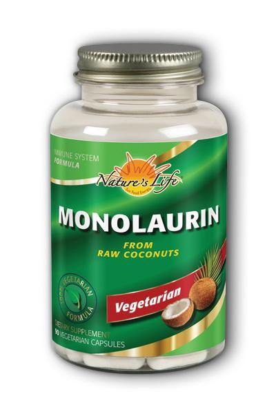 Natures Life -Monolaurin, From Raw Coconuts 90ct - Highland Health Foods