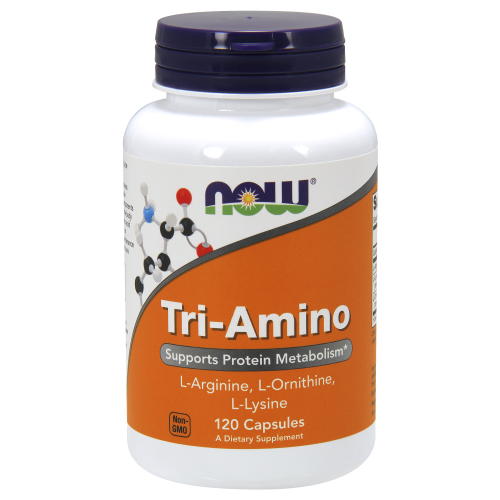 NOW FOODS -Tri-Amino - 120 Capsules