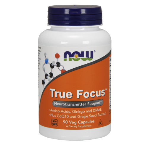 NOW FOODS -True Focus™ - 90 Veg Capsules