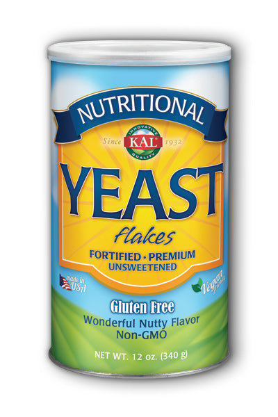 Kal- Nutritional Yeast Flakes, Unfla, 12 oz