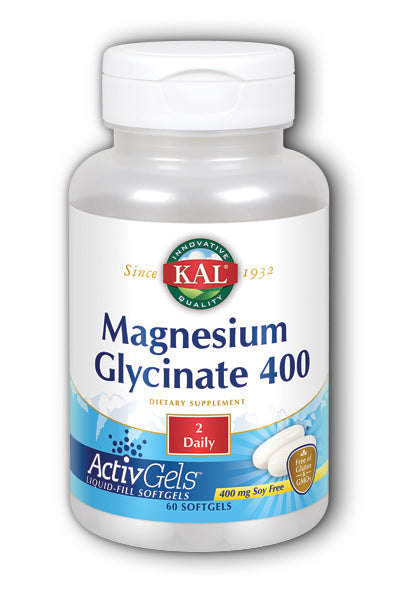Kal- Magnesium Glycinate 400 ActivGe, 60 ct