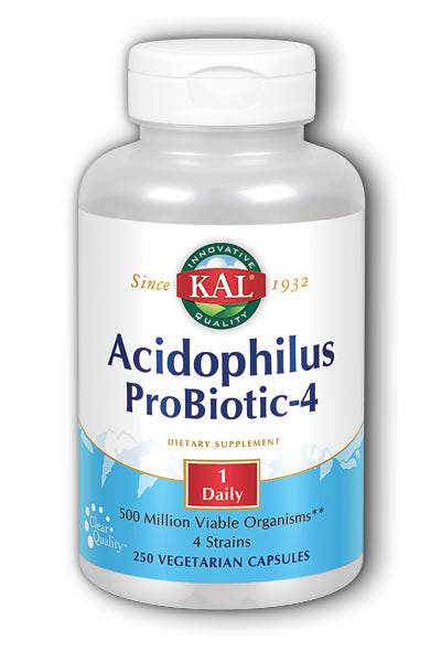Kal  -Acidophilus Probiotic-4 250ct