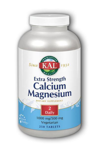 Kal- Extra Strength Cal Mag, Tablet, 250 ct