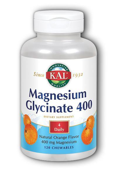 Kal  -Magnesium Glycinate 400 120ct