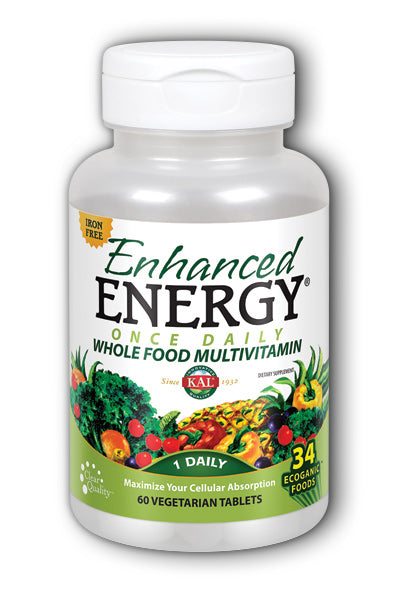 Kal- Enhanced Energy Iron Free Iron, 60 ct