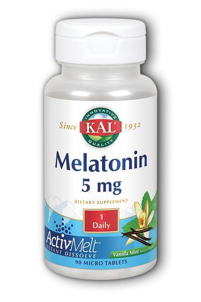 Kal  -Melatonin ActivMelt 90ct