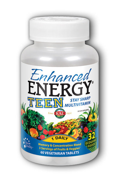 Kal- Teen Enhanced Energy, Tablet , 60 ct