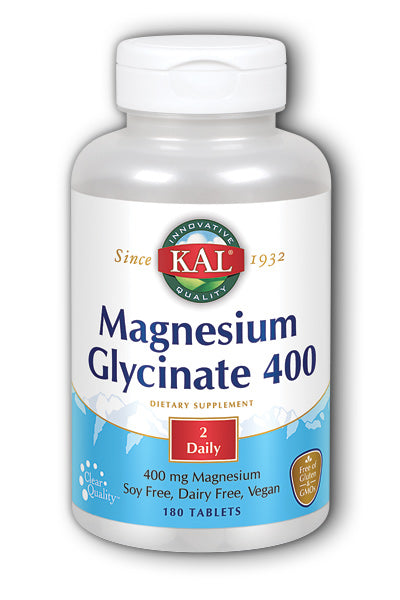 Kal  -Magnesium Glycinate 400 180ct