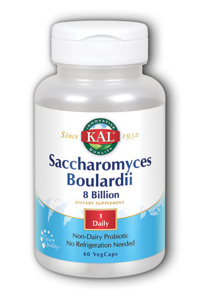 Kal  -Saccharomyces Boulardii 8 bil Room Temp Stable 60ct